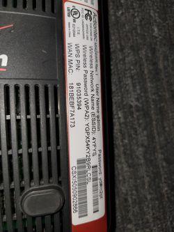 Verizon Actiontec MI424WR Rev.1 1gb Wired 4port Wireless Router Thumbnail