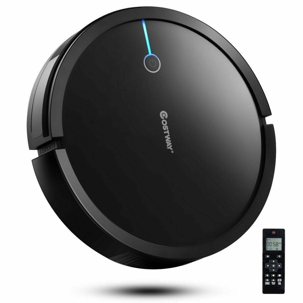 Robot Vacuum Cleaner 2000 Pa Strong Suction Filter