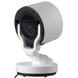 1500W Tabletop Portable Oscillating Ceramic Heater with Cooling Fan For Offices, Bedrooms, Classrooms, Basements Thumbnail