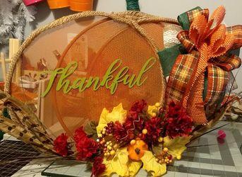 Tabletop pumpkin fall home decoration Thumbnail