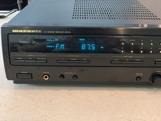 Marantz Sr-63 AVStereo Receiver with remote tested Thumbnail