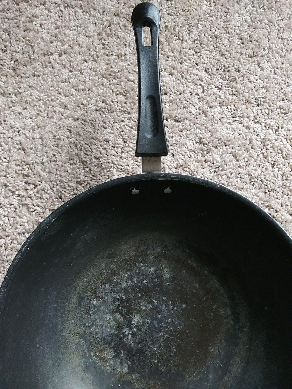 2 used ikea frying pans
