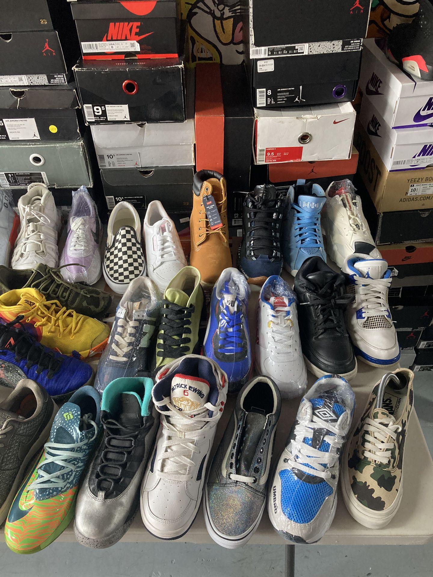 Shoes For Sale Jordan Adidas Supreme Lebron