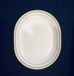 **Casa Flora Corelle by Corning Serving Platter — Used/Very Good Condition** Thumbnail