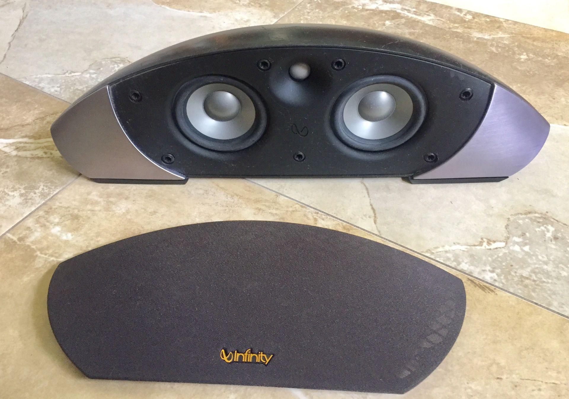 Infinity Audiophile 125 Watt/8-ohm Center Ch Speaker!!