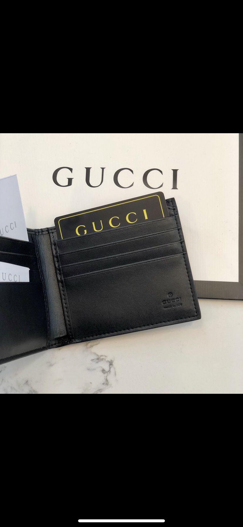 GG Supreme Tiger Print Wallet