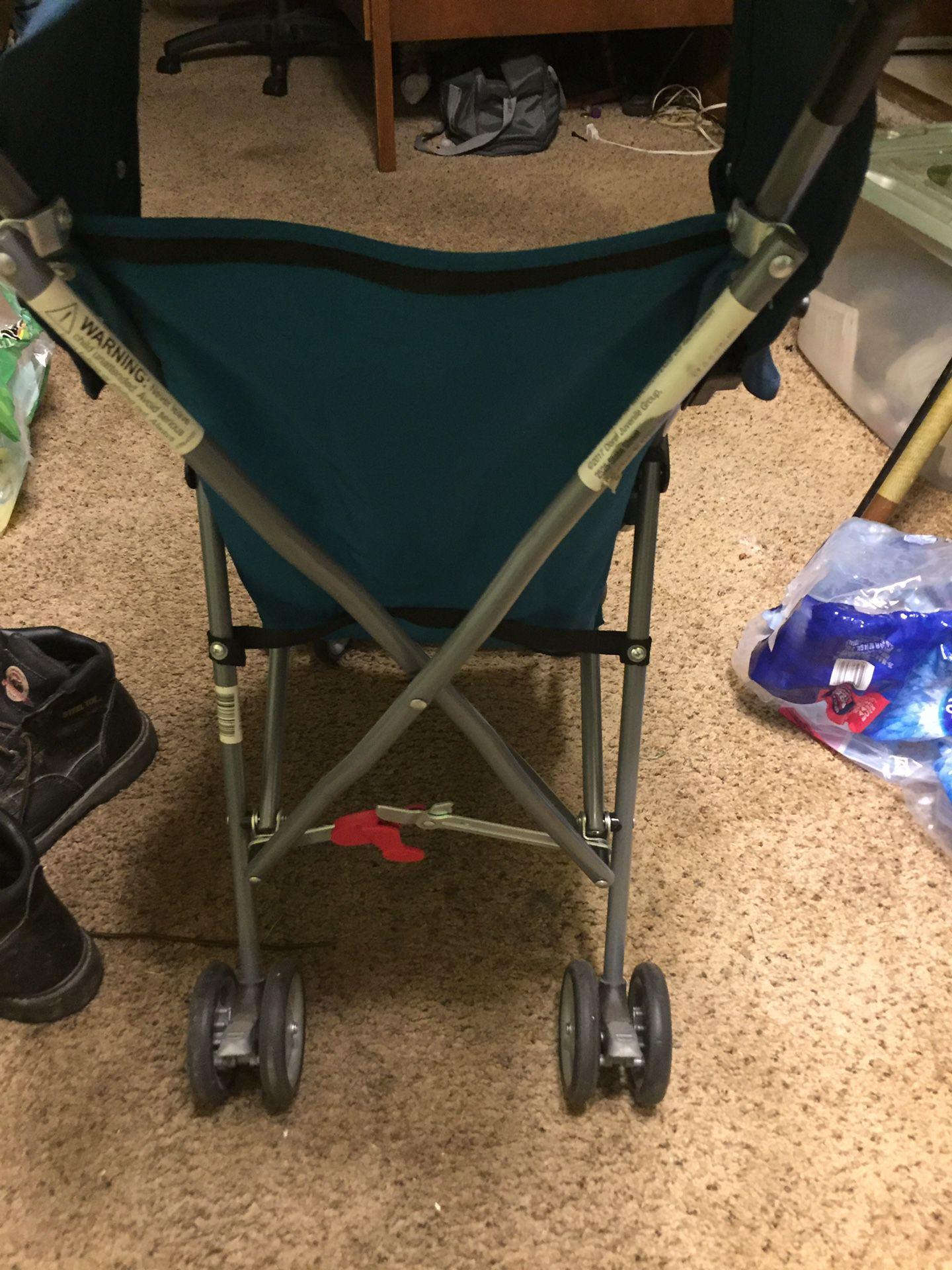 Toddler stroller, pack n play