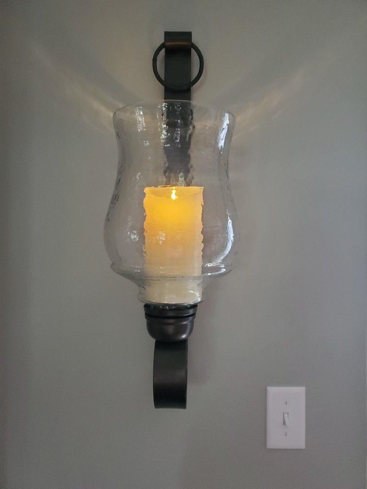 Wall Sconce With Candle