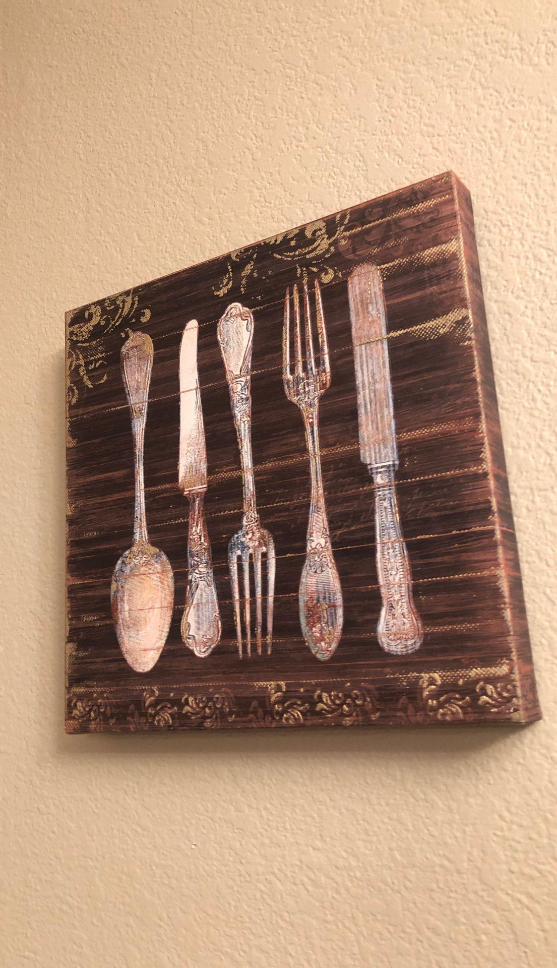 Small kitchen sign decor