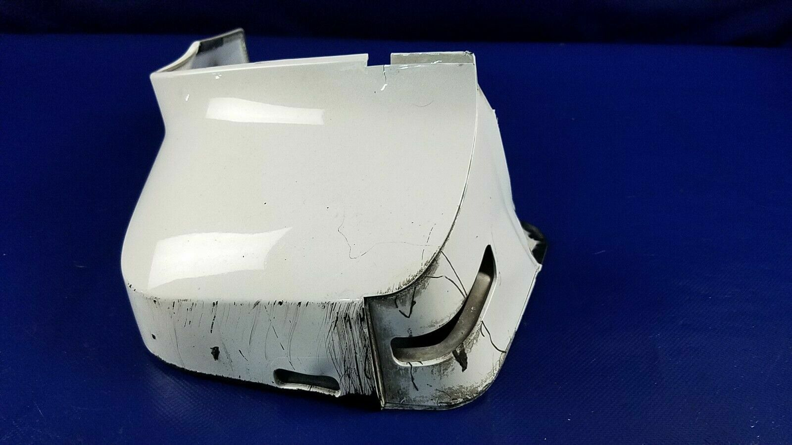 13-14 INFINITI JX35 QX60 FRONT LEFT SIDE MUD SPLASH FLAP GUARD WHITE (QAA) 69310