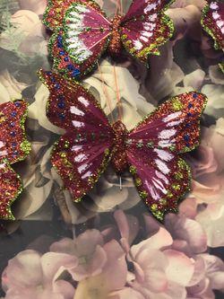 Christmas butterflies Thumbnail