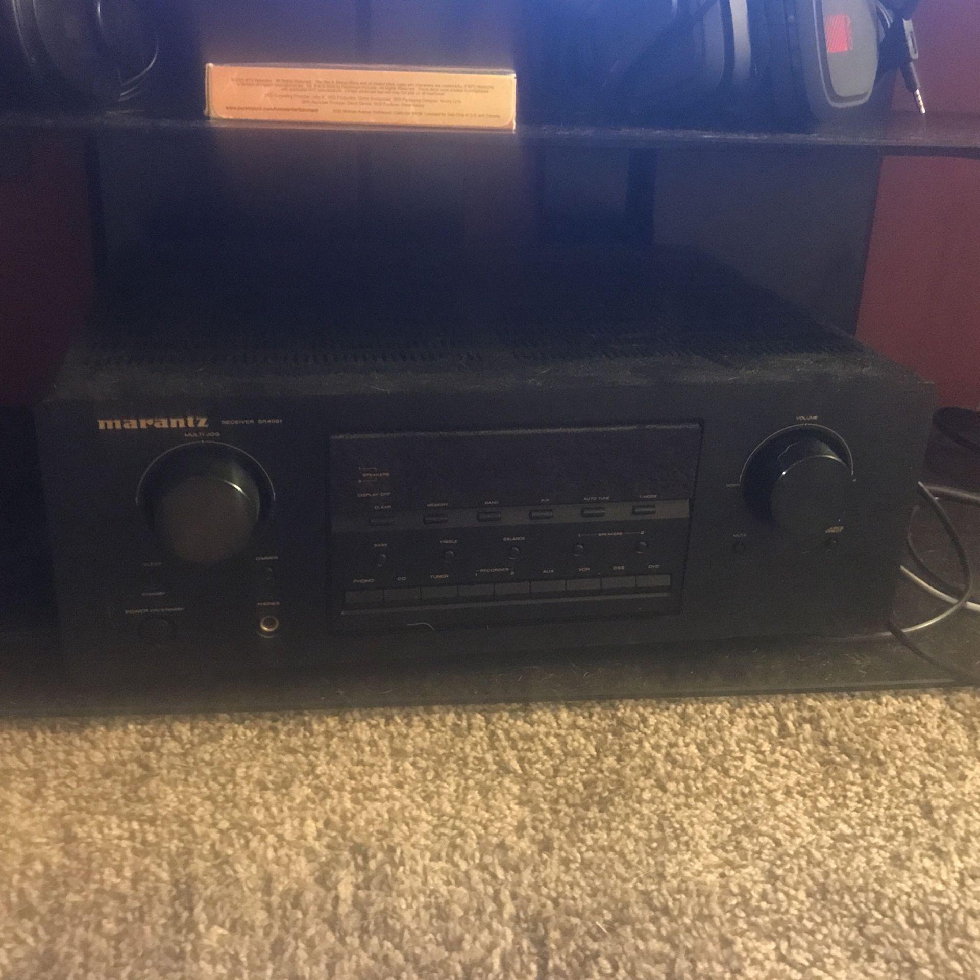 Marantz Sr4021 Am/fm Stereo 2-channel Home Receiver