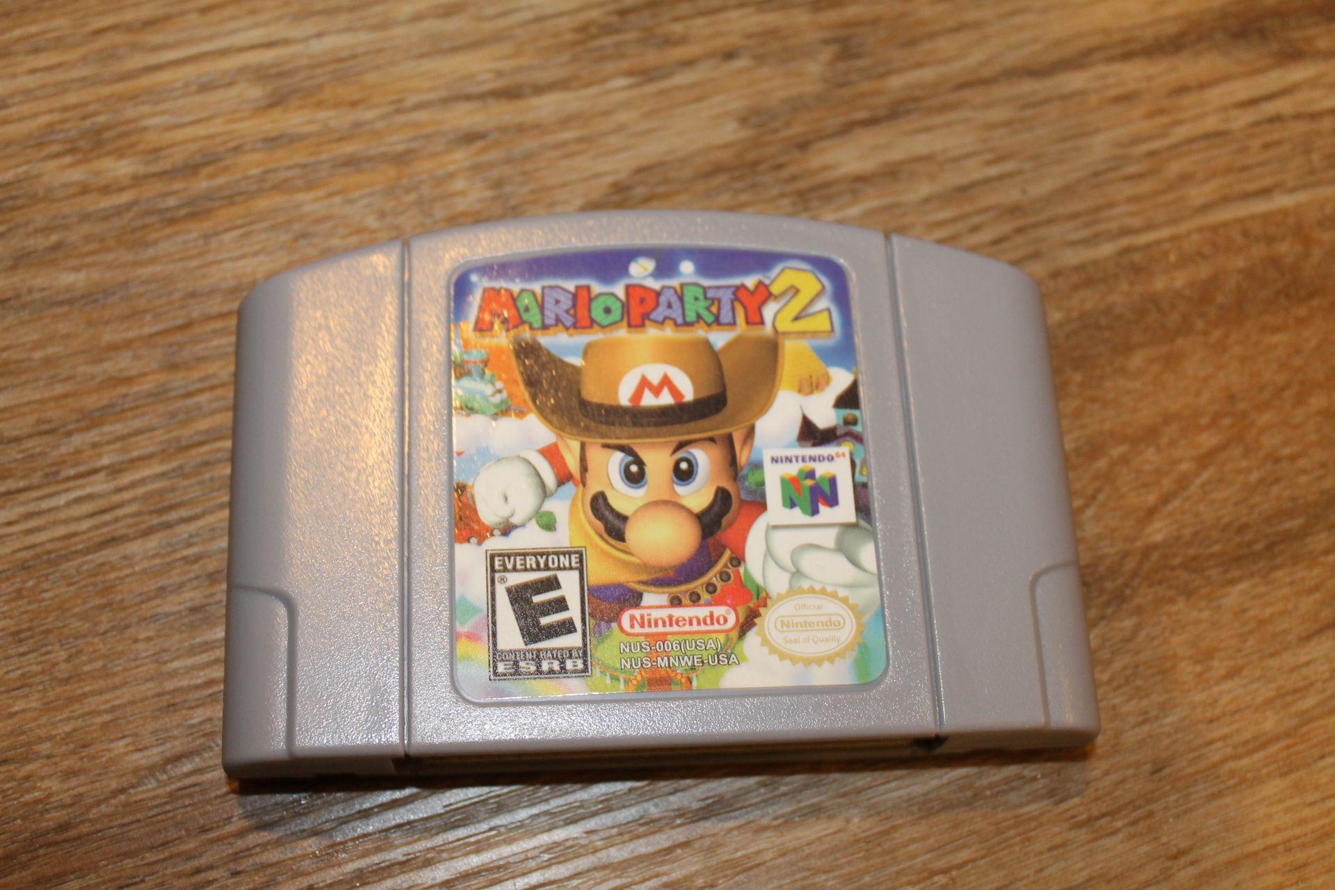 Mario Party 2 for Nintendo 64 (Reproduccion New and Perfect )