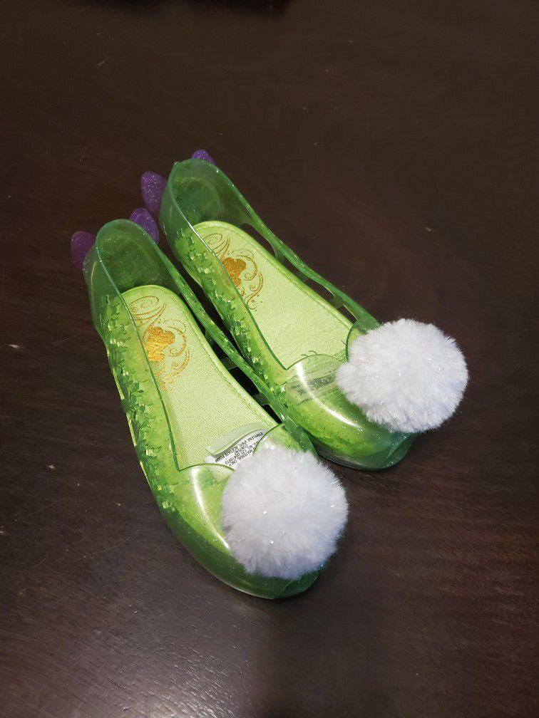 Tinkerbell Shoes Toddler Girls Size 11 12 Disney