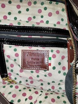 NENCIONI FIRENZE GENUINE LEATHER PURSE MADE IN ITALY Thumbnail