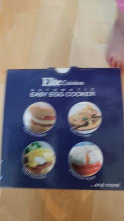 elite cuisine easy egg cooker Thumbnail