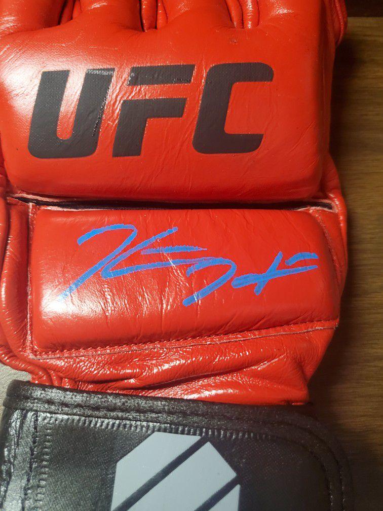 Kevin Holland Signed UFC Glove