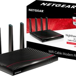 Netgear Nighthawk Cable Modem Wifi Router C7800 Thumbnail