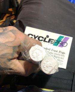 Cyclepro Bmx Threaded Foot Pegs (OBO) Thumbnail