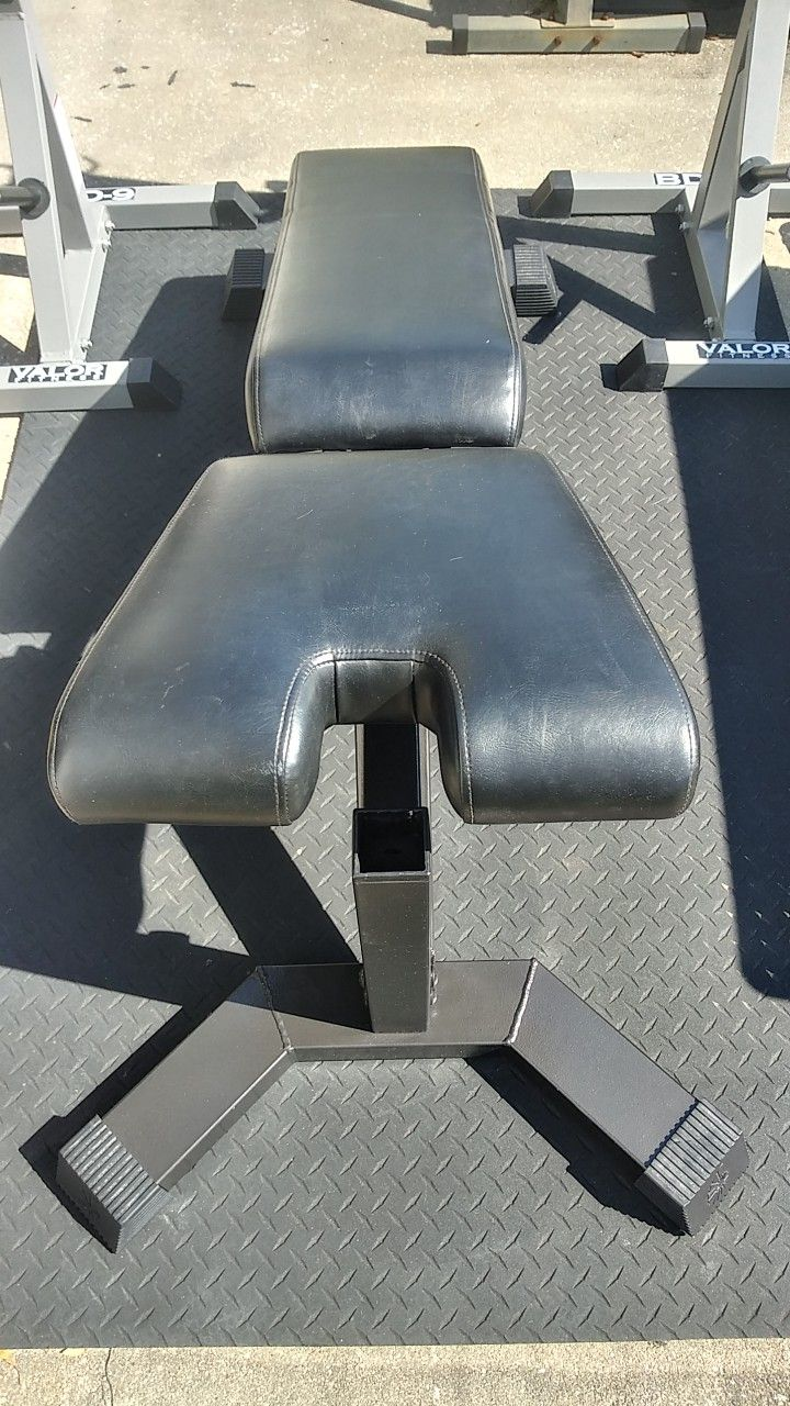 Squat Rack Bench Press Combo With Commercial Nautilus Weight Bench $700 Gets It
