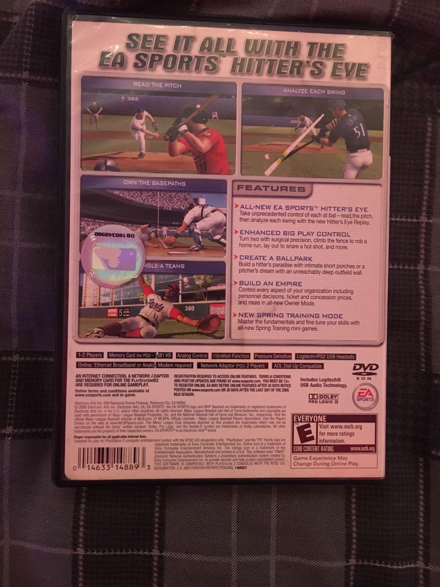Ps2 mvp Baseball Lot