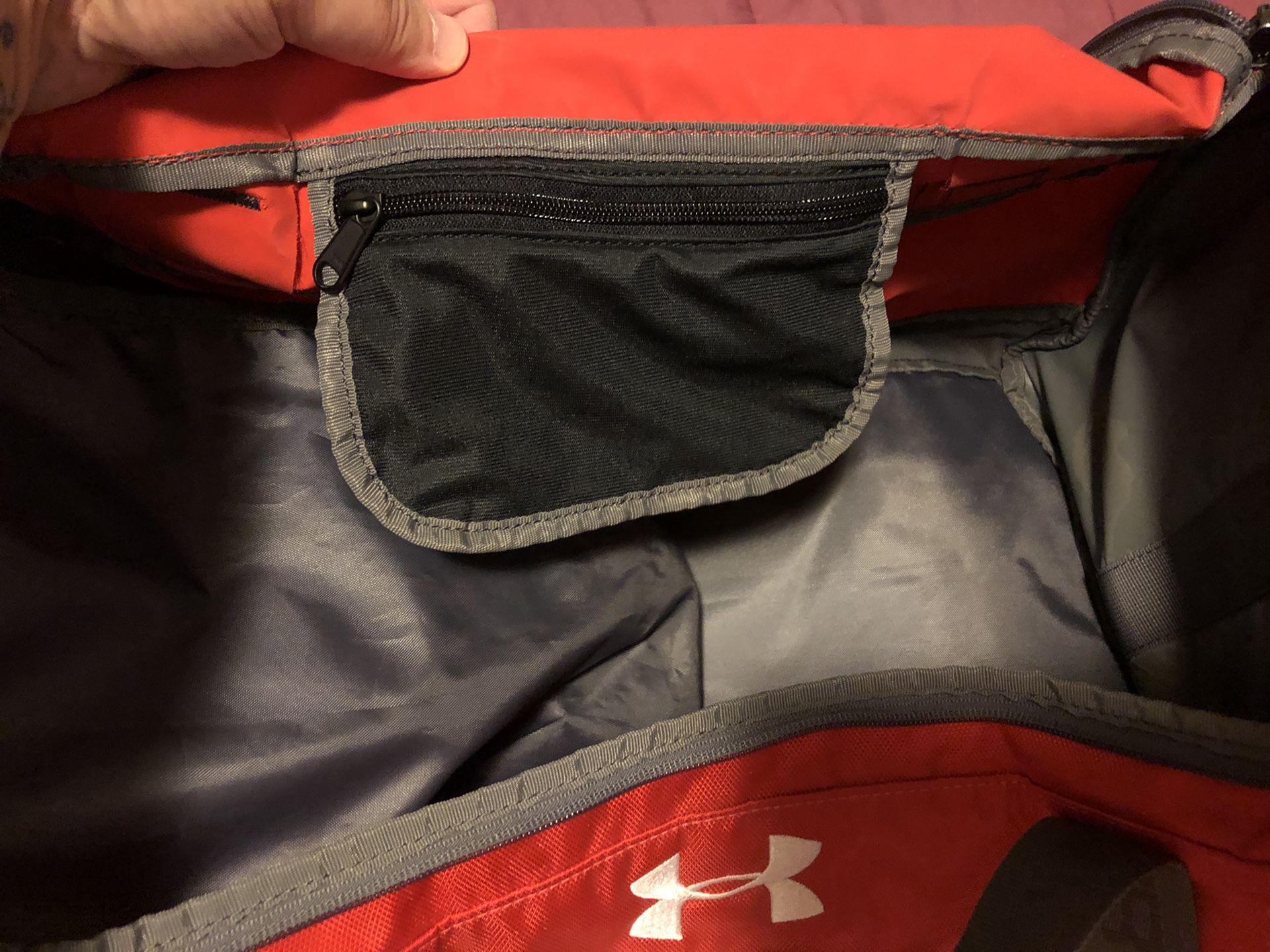 Under Armour Duffle Bag.