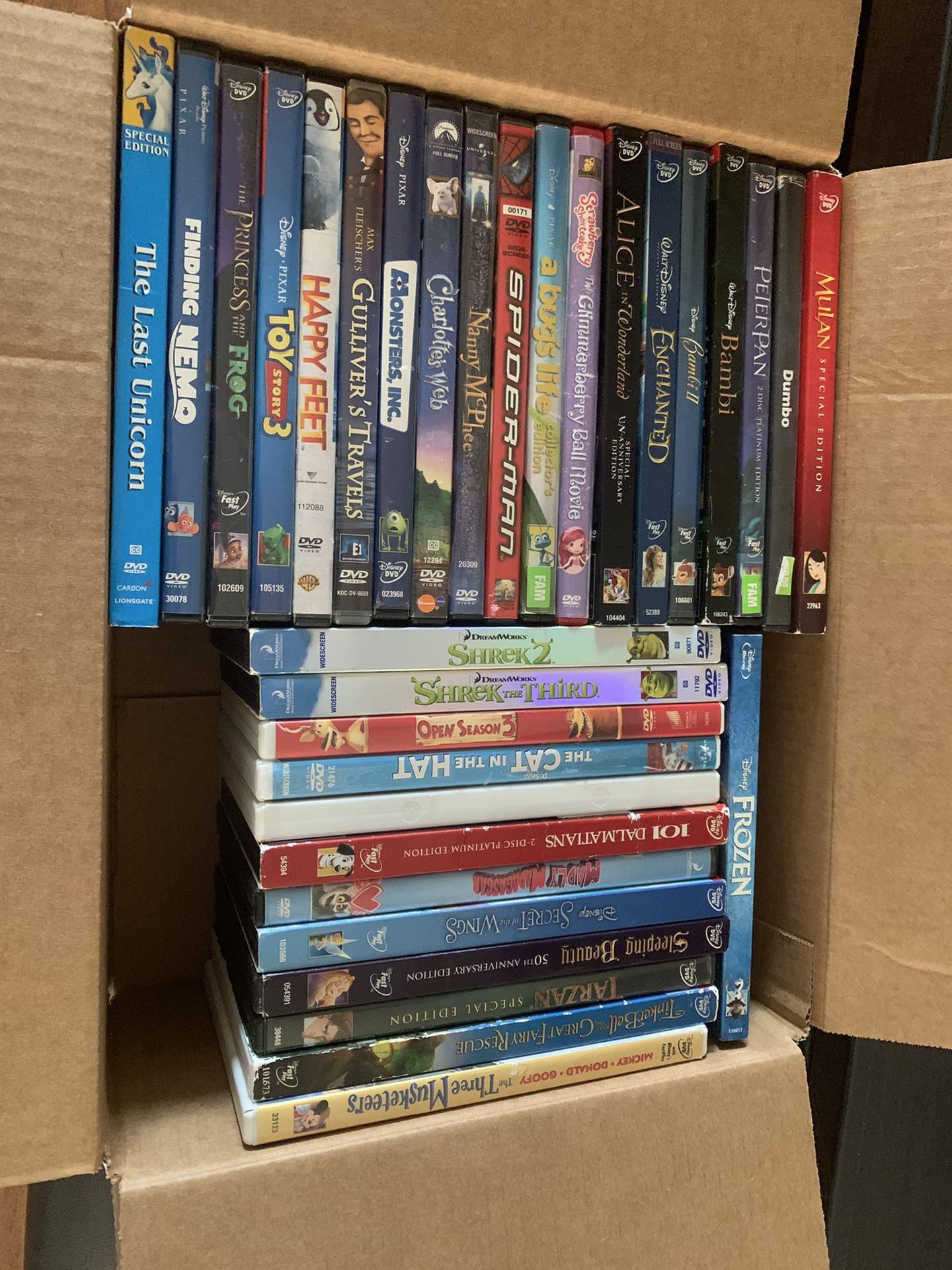 Disney Classic DVD's 30+ Titles