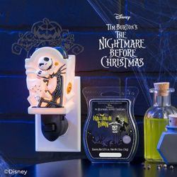 Nightmare before Christmas scentsy warmers Thumbnail