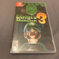 Luigi's Mansion Game Switch Games  Thumbnail