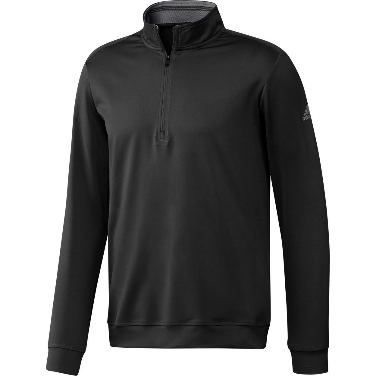 Adidas Mens Classic Club Zip Sweater Size XXL