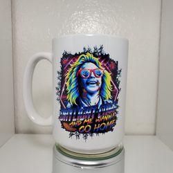 Beetlejuice Custom 15 oz Coffee Mug  Thumbnail