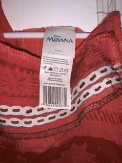 Moana Girls Size M 8-10 Thumbnail