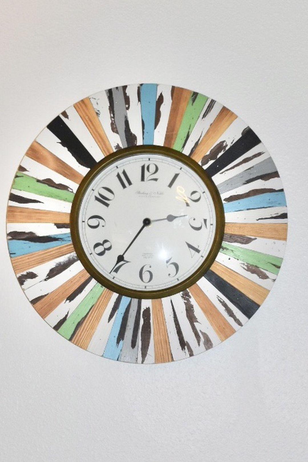 Coloful Frame Wall Clock