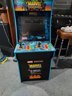 Arcade 1up  Marvel Super Heroes Game Thumbnail