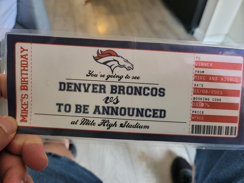 4 Denver Broncos Vs New York Jets