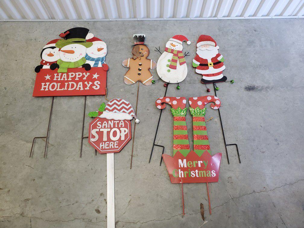 Christmas yard decorations
