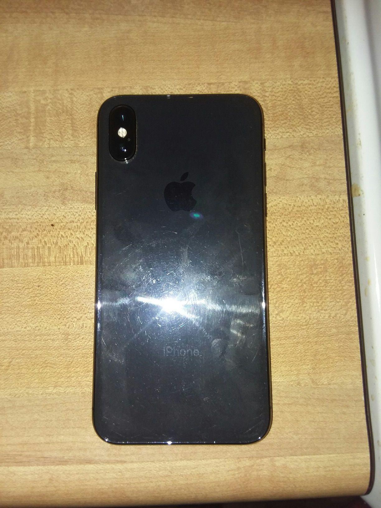 Iphone X, 256 gigs