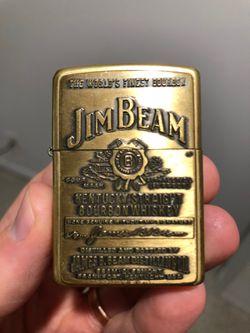 Jim Beam Zippo Lighter - collectable Thumbnail