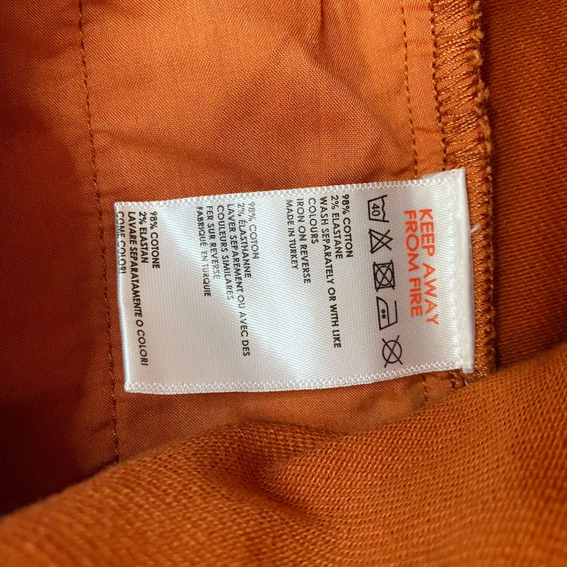 Urban Outfitters/BDG Uncut Corduroy Overall Dress