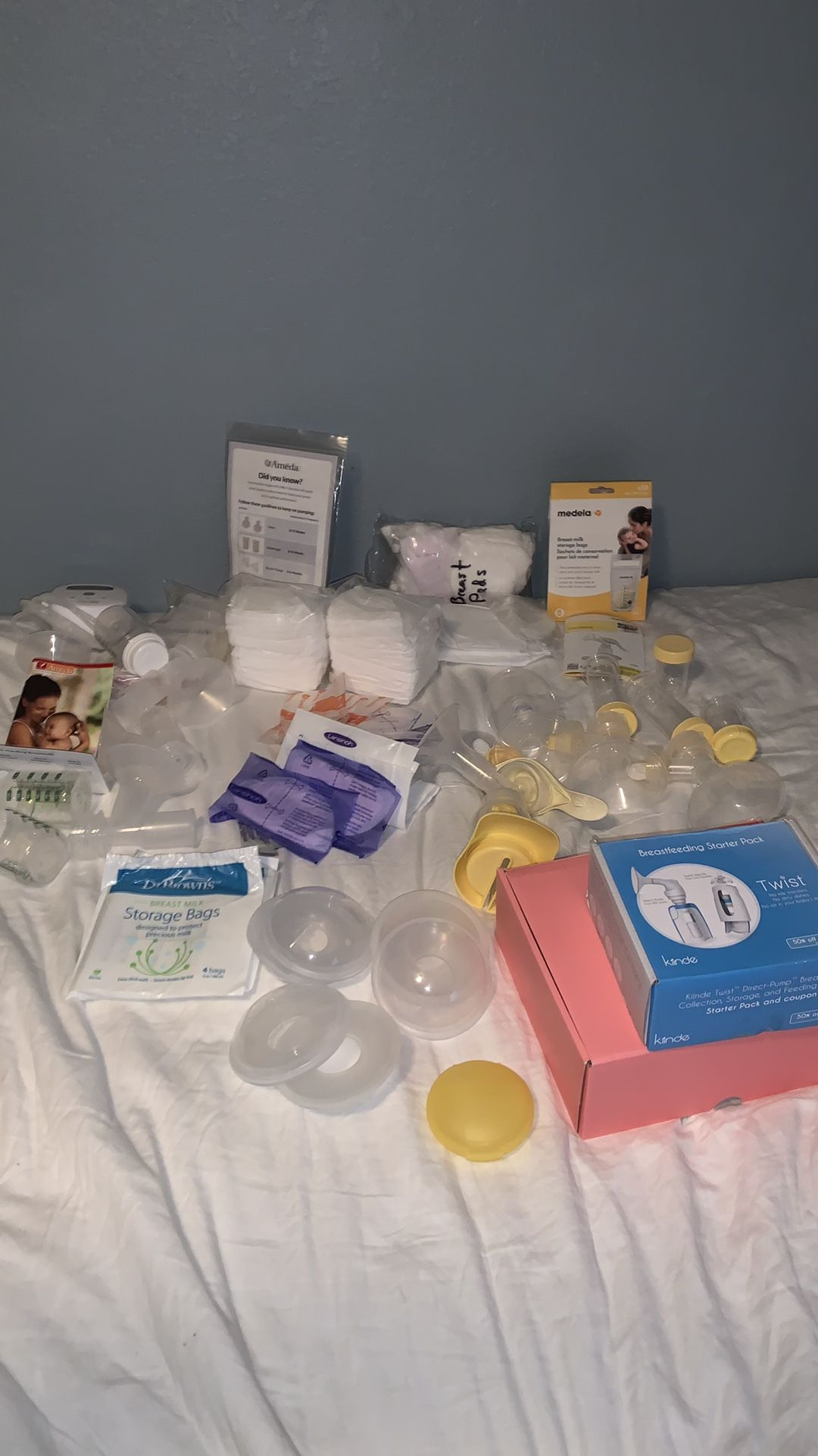 Aveda Breast Pump And Accessories