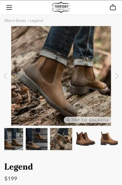 Men's Boots ~Thursday Boot Co.™ ~ NEW IN BOX!!! Thumbnail