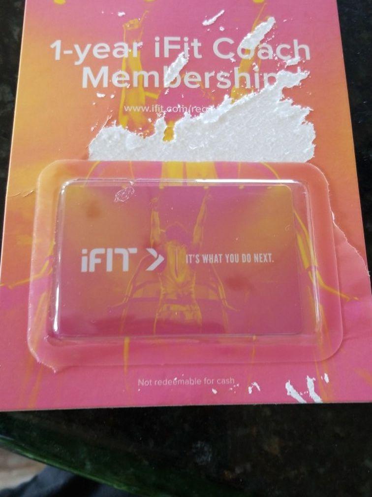Ifit 1 Year Membership Worth 350