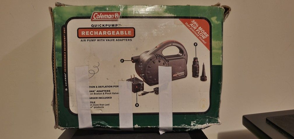Coleman Rechargeable Air Pump