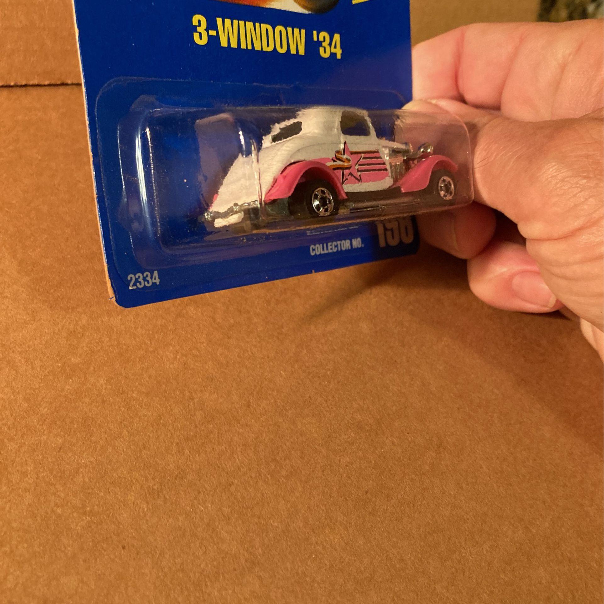 Hot Wheels 3-Window '34