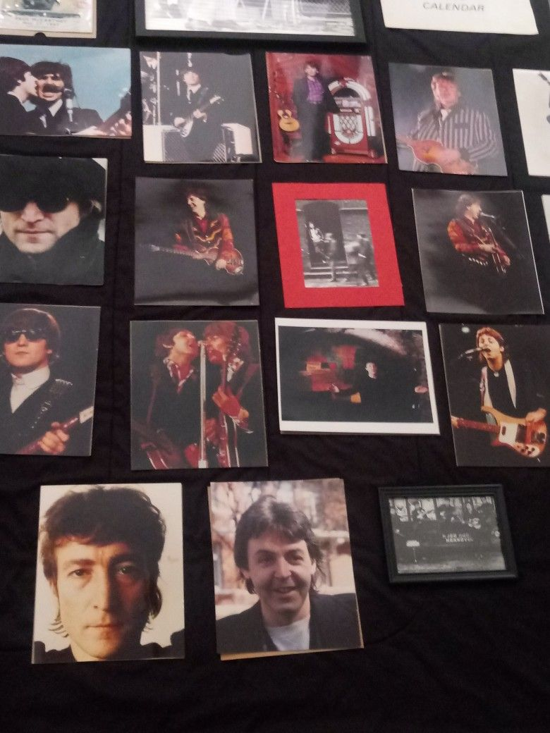 Vintage Beatles Photos Advertising Items And Much More Found In A Storage Unit