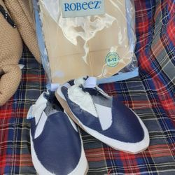 ROBEEZ Baby  size 6-12m.😊 Thumbnail