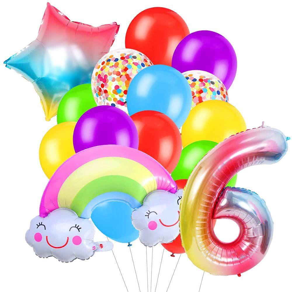 Birthday Balloons Set