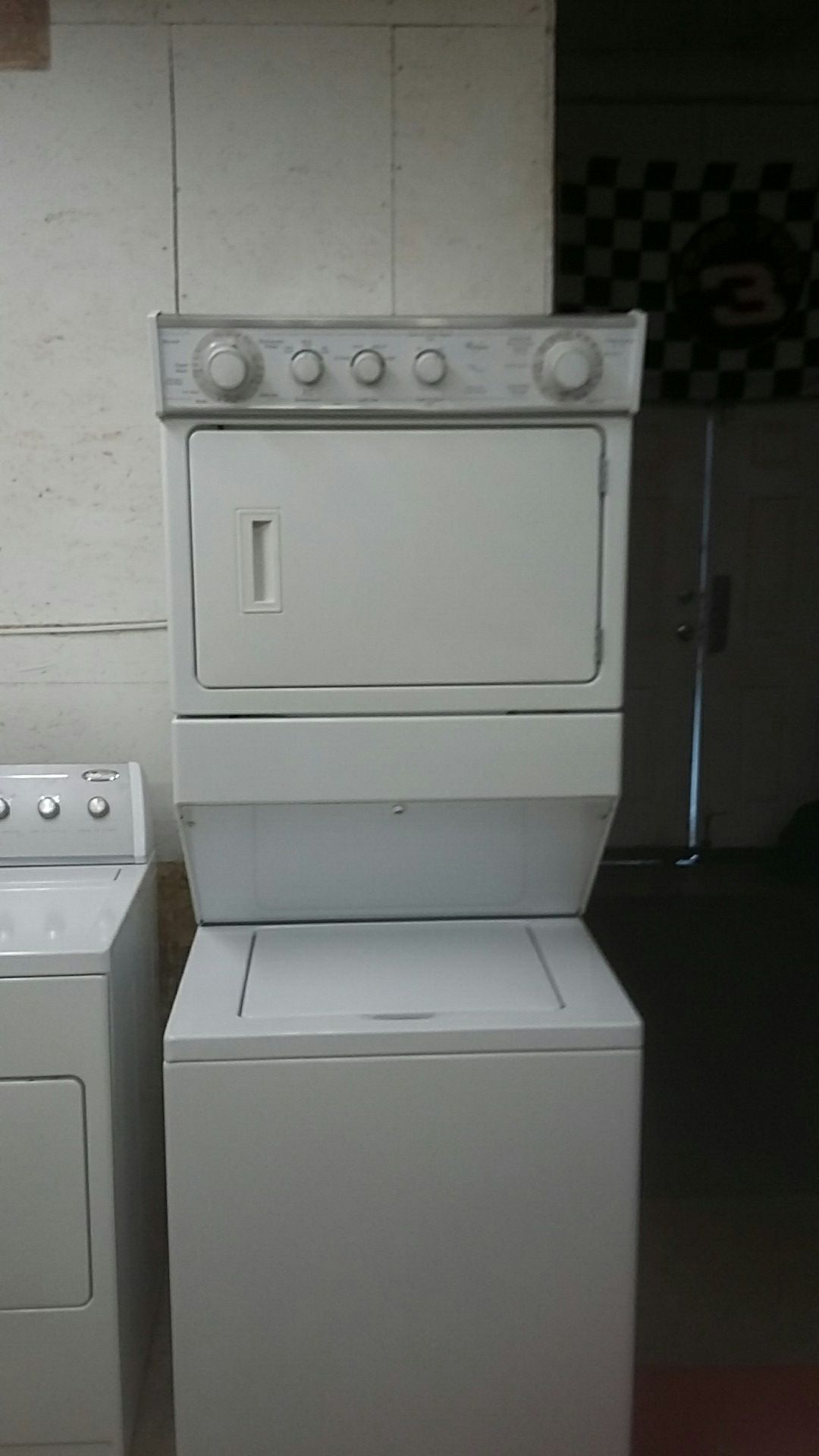 Wolf Hall stats that washer and dryer full size rebuilt comes with a 90-day