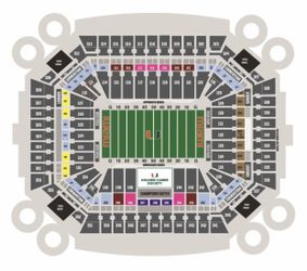 Two Club Level Tickets UM vs. Virginia 9/30 Section 208 Thumbnail