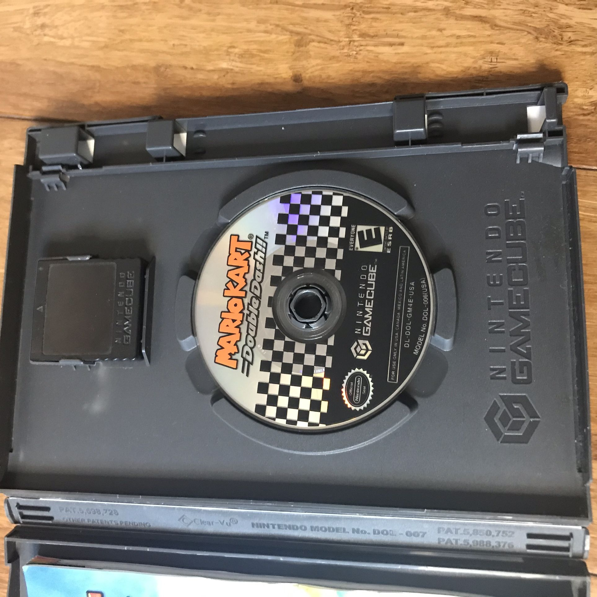 GameCube Games Mario Kart Luigis Mansion